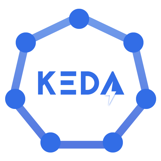 KEDA home hero logo